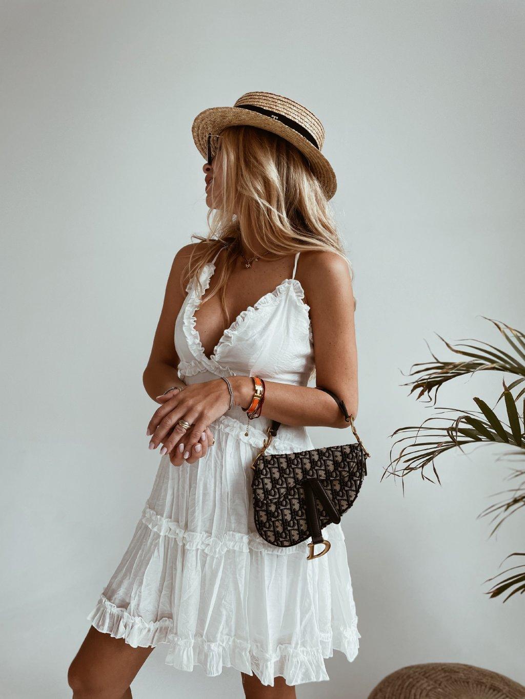 bílé šaty Lovely 1