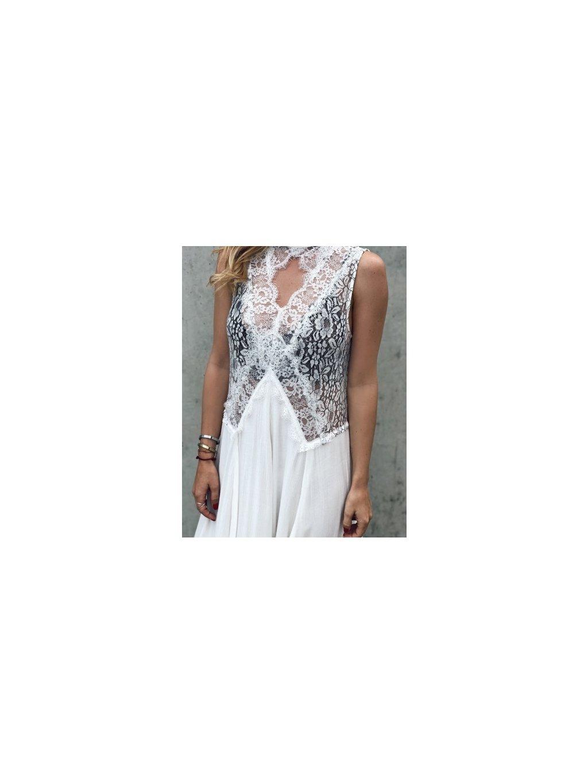 bílé šaty lace 1