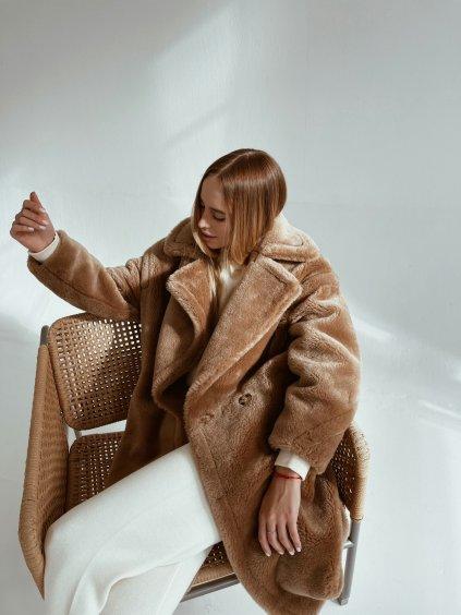 Teddy kabát Camel