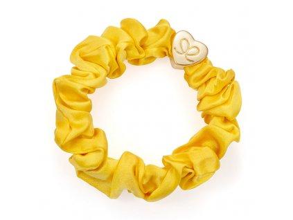 MellowYellow GoldHeart Scrunchie ByEloise