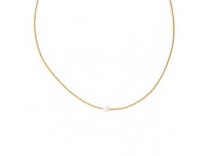 BL24280 1 Flora Moonstone Gold Necklace
