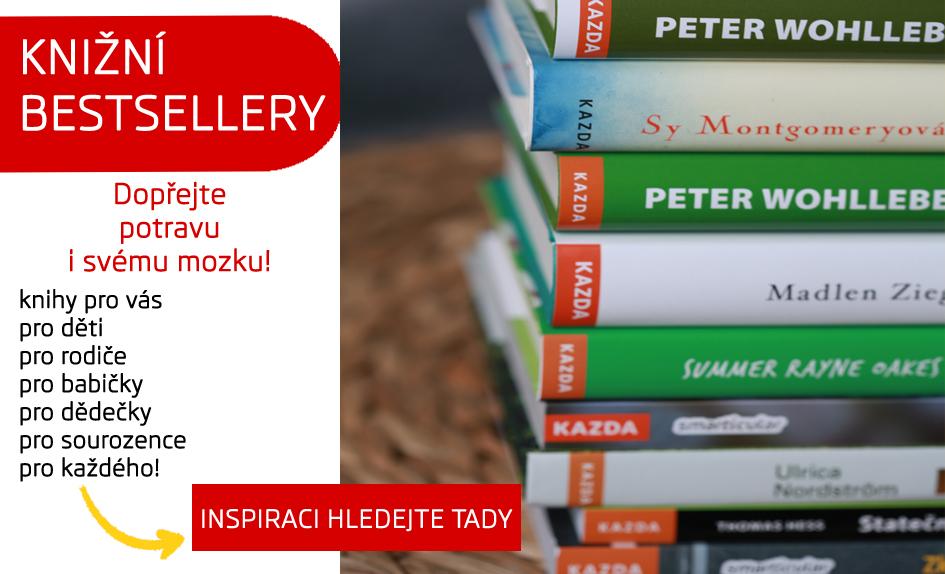 bestsellerové knihy shoprecall