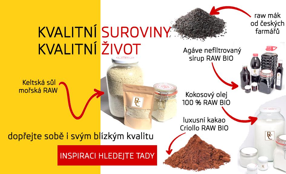kakao, mák od českých farmářů