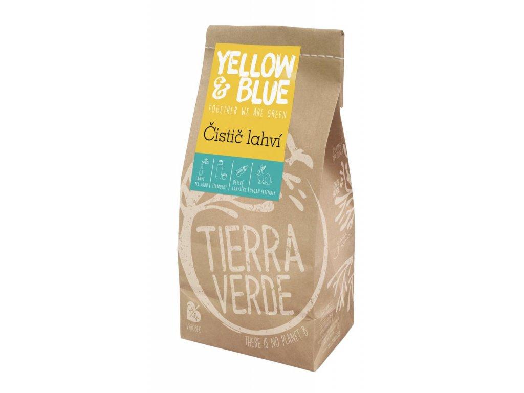 Tierra Verde – Čistič lahví (Yellow & Blue), 1 kg
