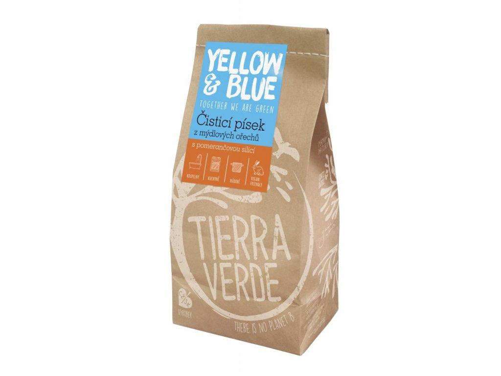 Tierra Verde – Čisticí písek (Yellow & Blue), 1 kg