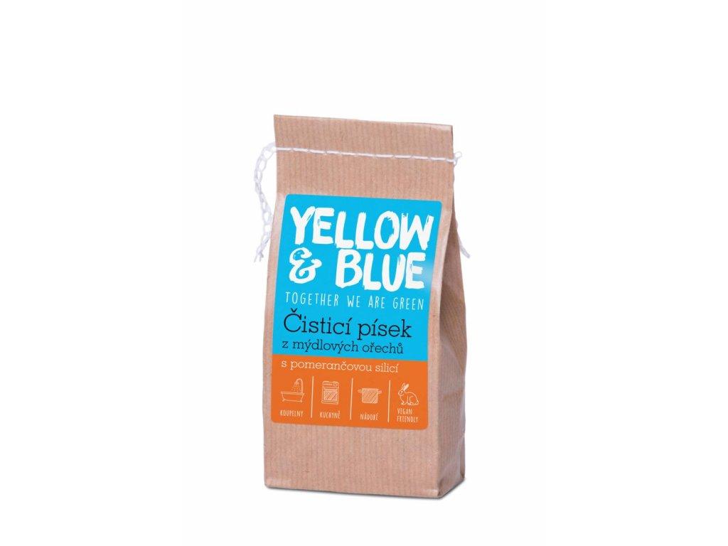 Tierra Verde – Čisticí písek (Yellow & Blue), 250 g