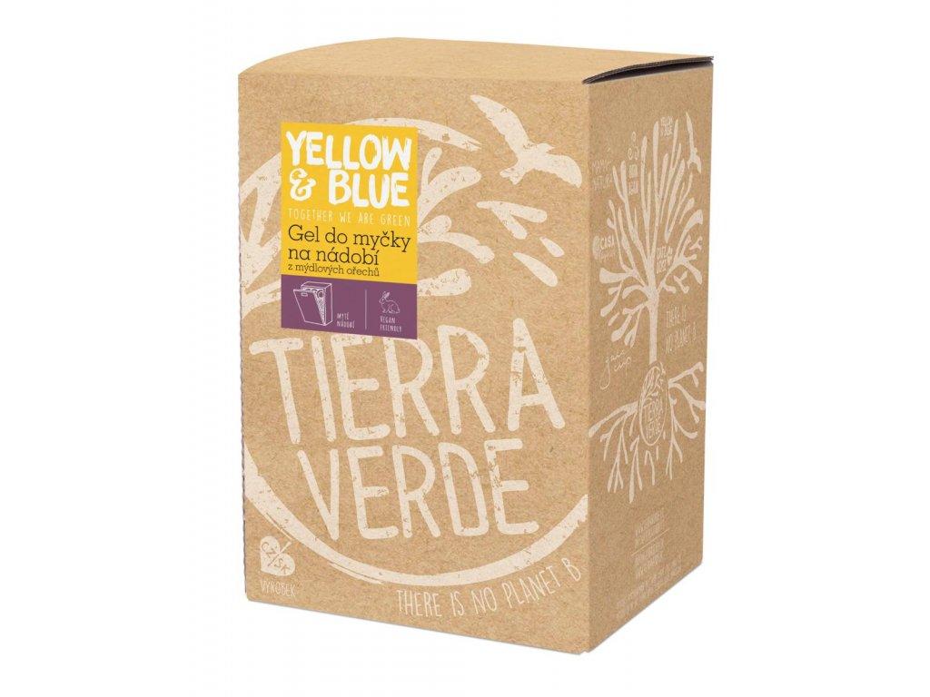Tierra Verde – Gel do myčky (Yellow & Blue), 5 l