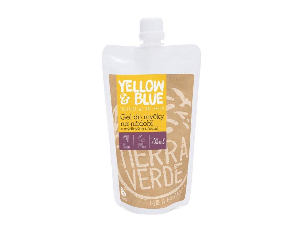 Tierra Verde – Gel do myčky (Yellow & Blue), 250 ml