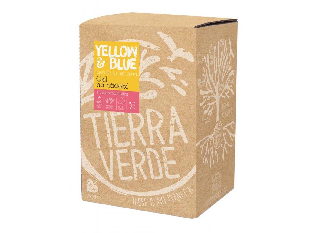 Tierra Verde – Gel na nádobí (Yellow & Blue), 5 l