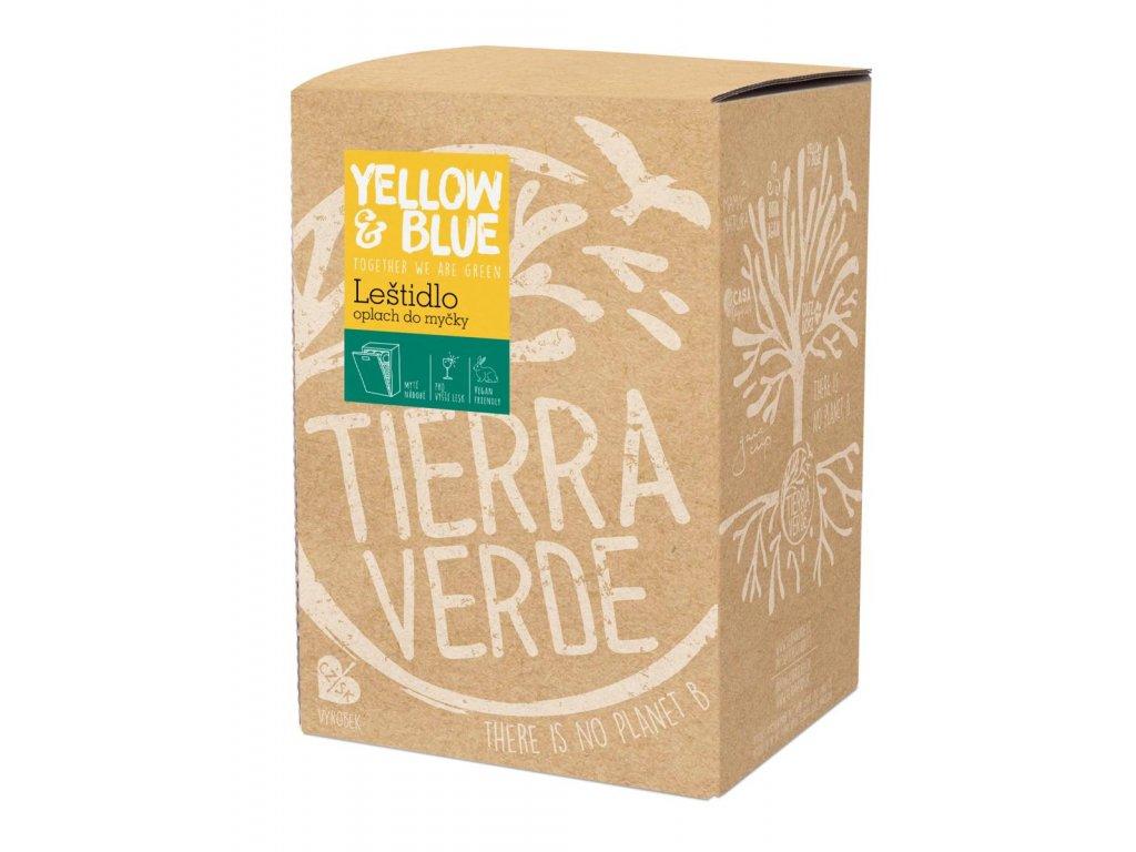 Tierra Verde – Leštidlo - oplach do myčky (Yellow & Blue), 5 l