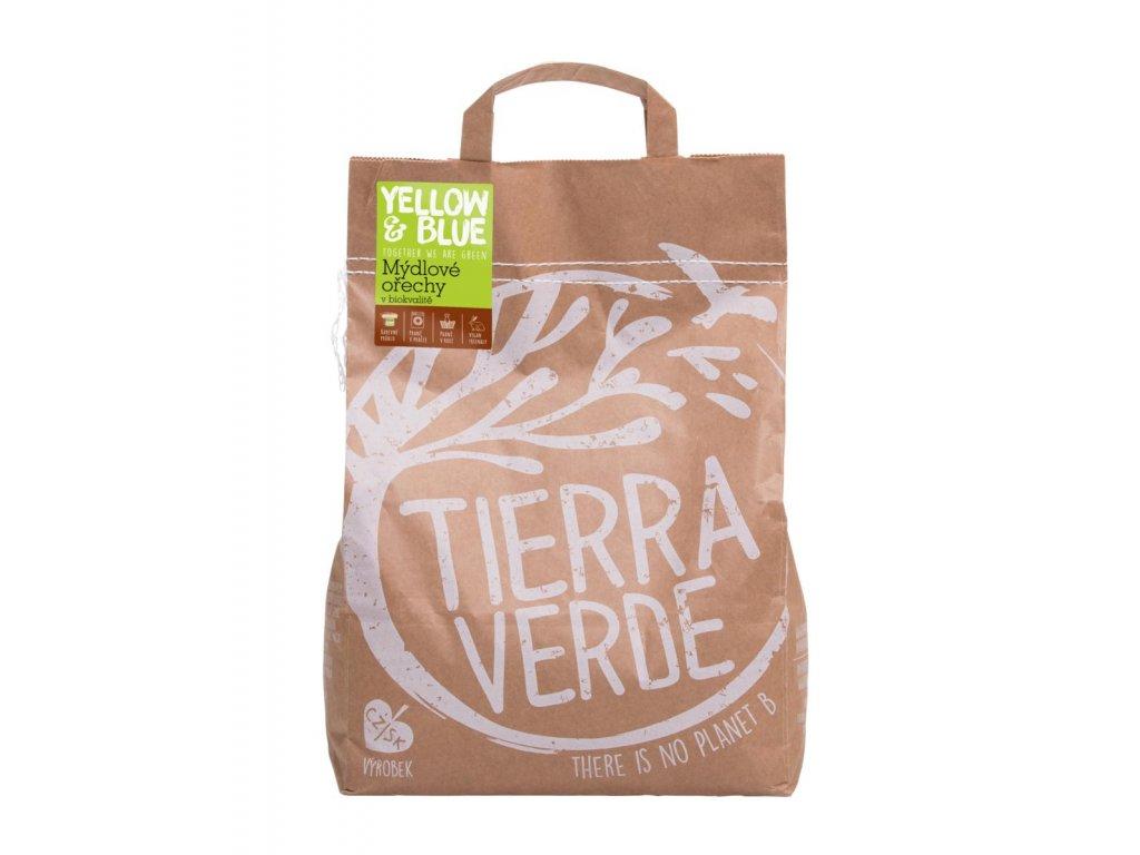Tierra Verde – Mýdlové ořechy (Yellow & Blue), 1 kg