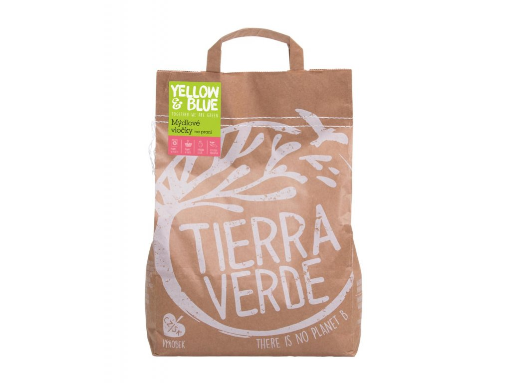 Tierra Verde – Mýdlové vločky (Yellow & Blue), 2,5 kg