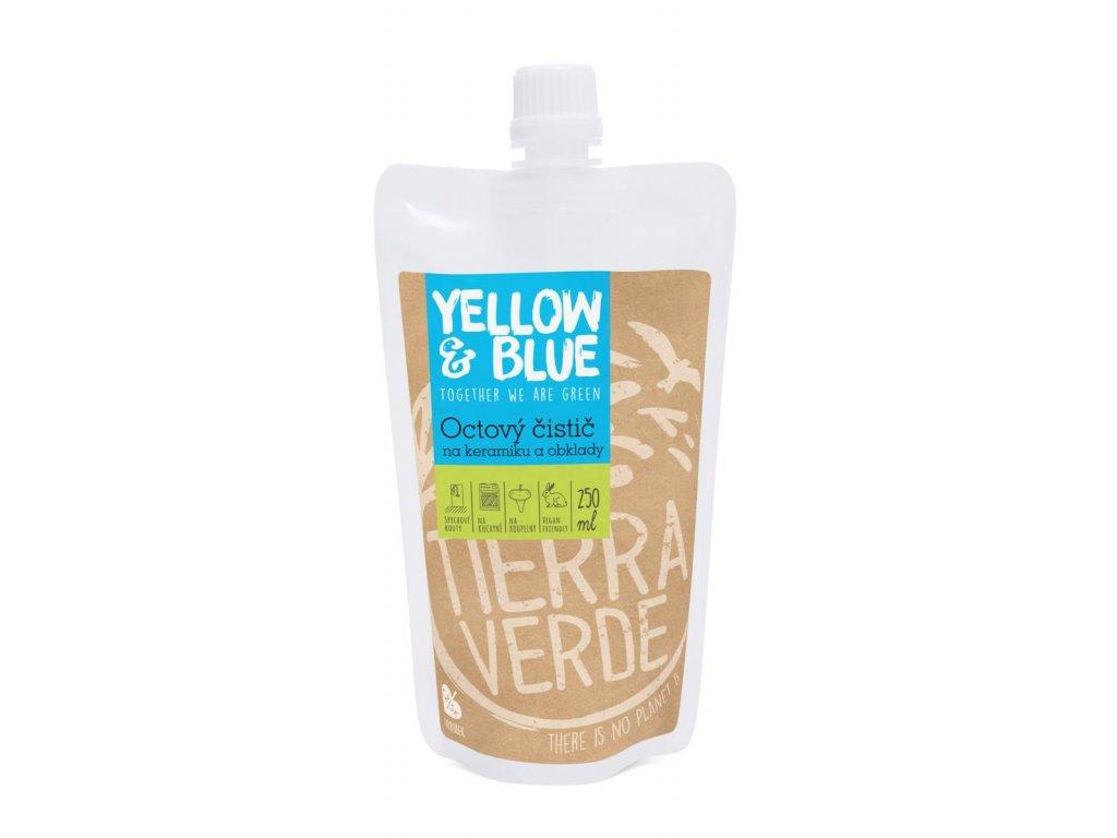 Tierra Verde – Octový čistič (Yellow & Blue), 250 ml