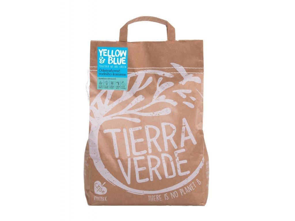 Tierra Verde – Odstraňovač vodního kamene – kyselina citronová (Yellow & Blue), 5 kg