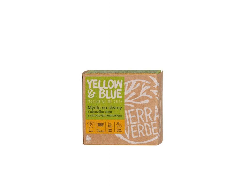 Tierra Verde – Olivové mýdlo citron (Yellow & Blue), 200 g