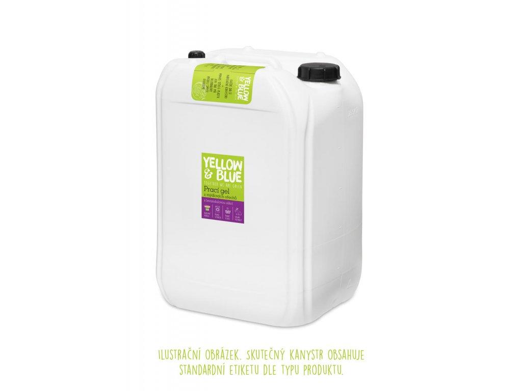 Tierra Verde – Prací gel bez vůně (Yellow & Blue), 25 l