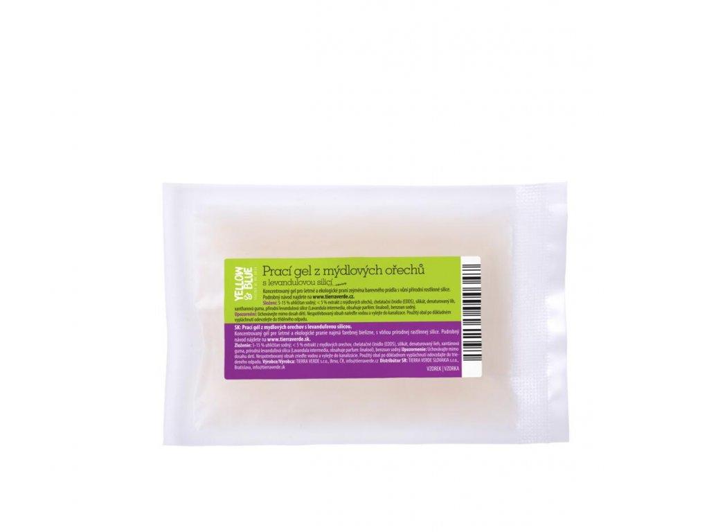 Tierra Verde – Prací gel levandule (Yellow & Blue), 30 ml