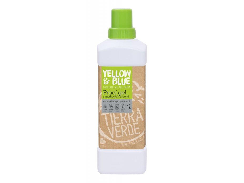 Tierra Verde – Prací gel sport (Yellow & Blue), 1 l
