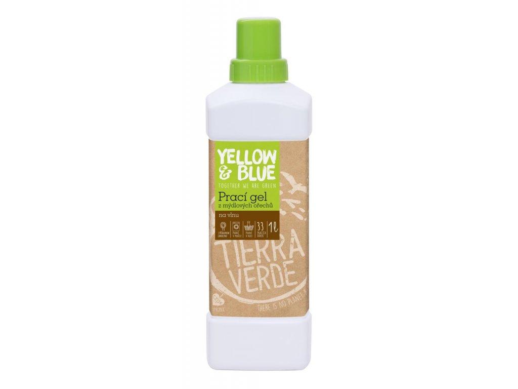 Tierra Verde – Prací gel vlna (Yellow & Blue), 1 l