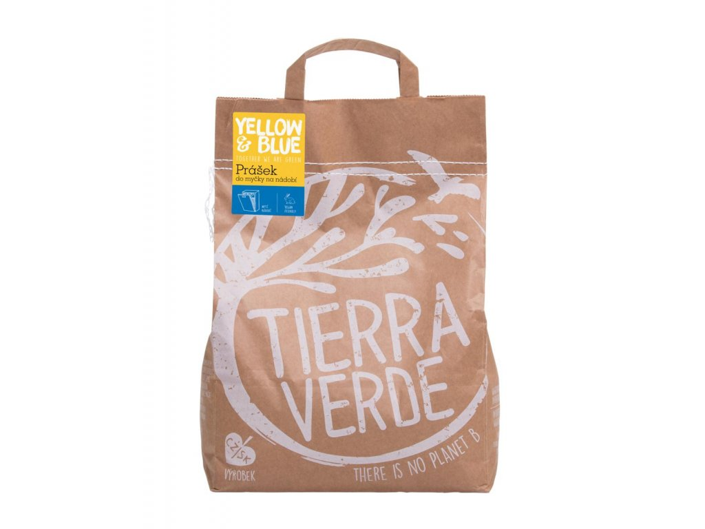 Tierra Verde – Prášek do myčky (Yellow & Blue), 5 kg