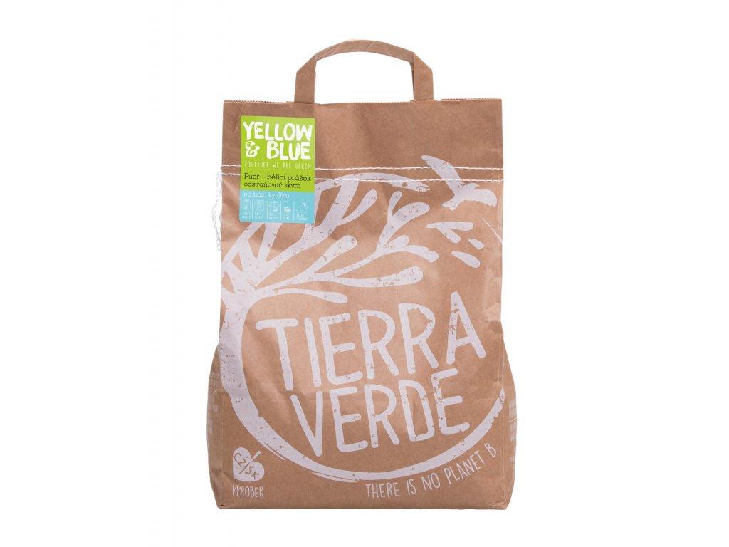 Tierra Verde – Puer – bělicí prášek (Yellow & Blue), 5 kg