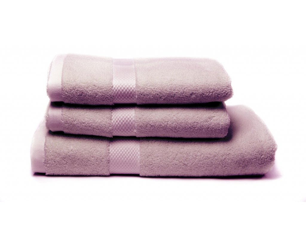 Tierra Verde – Sada dvou ručníků a osušky – fialová