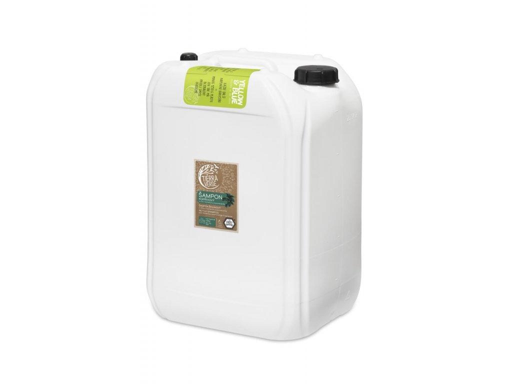Tierra Verde – Šampon kopřivový svůní rozmarýnu a pomeranče, 25 l