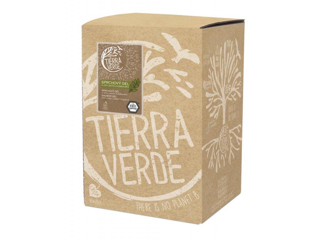 Tierra Verde – Sprchový gel svůní vavřínu kubébového, 5 l