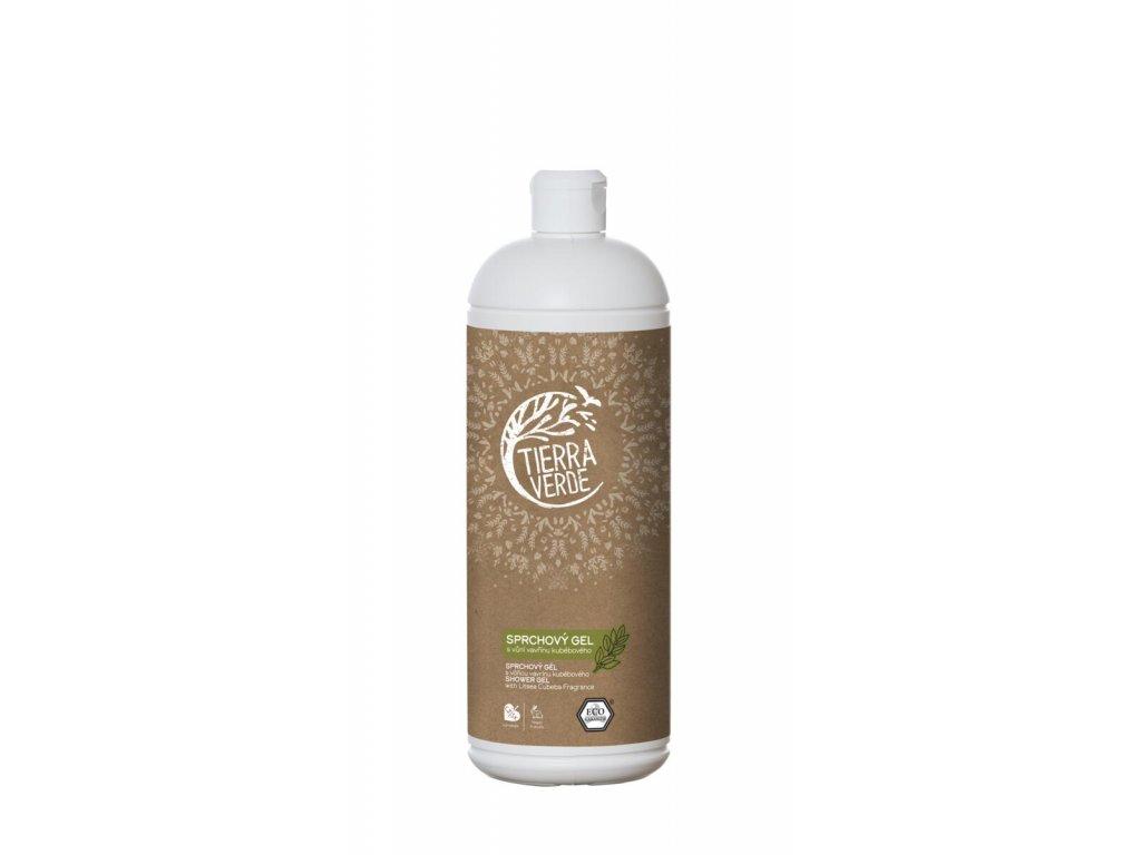 Tierra Verde – Sprchový gel svůní vavřínu kubébového, 1 l
