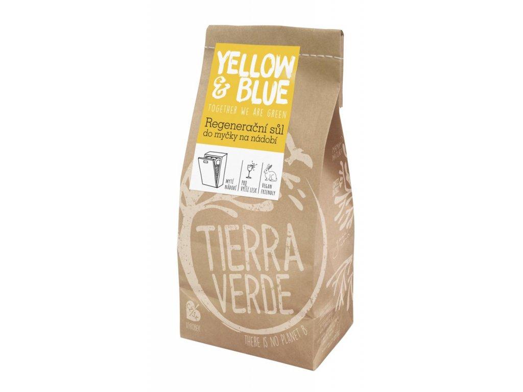 Tierra Verde – Sůl do myčky (Yellow & Blue), 2 kg