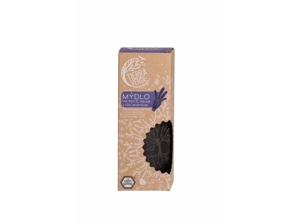 Tierra Verde – Tekuté mýdlo na ruce – levandule, 230 ml