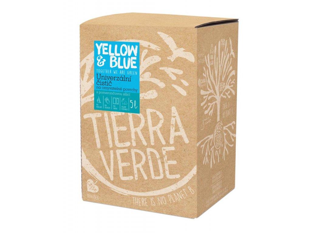 Tierra Verde – Univerzální čistič (Yellow & Blue), 5 l