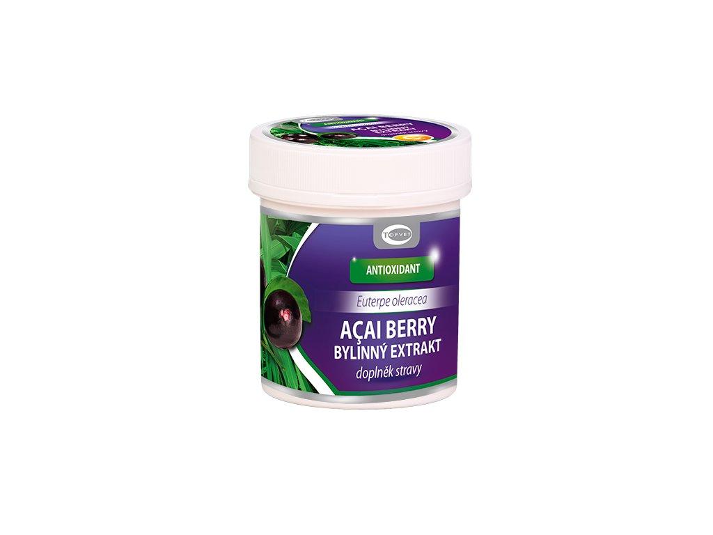 TOPVET Acai berry bylinný extrakt