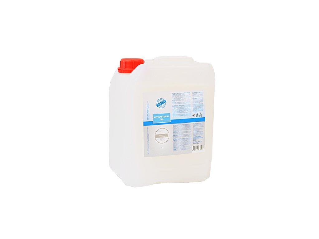 TOPVET Antibakteriální gel na ruce 5 l - Hedvábí 5000ml