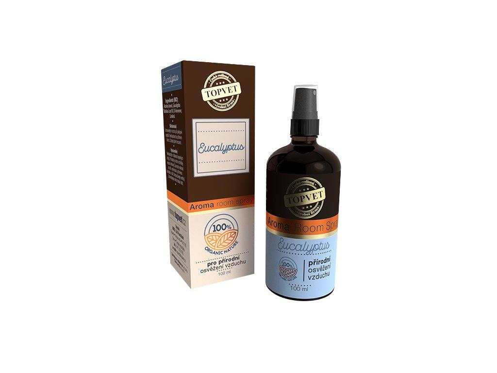 TOPVET Aroma Room Spray Eucalyptus 100ml