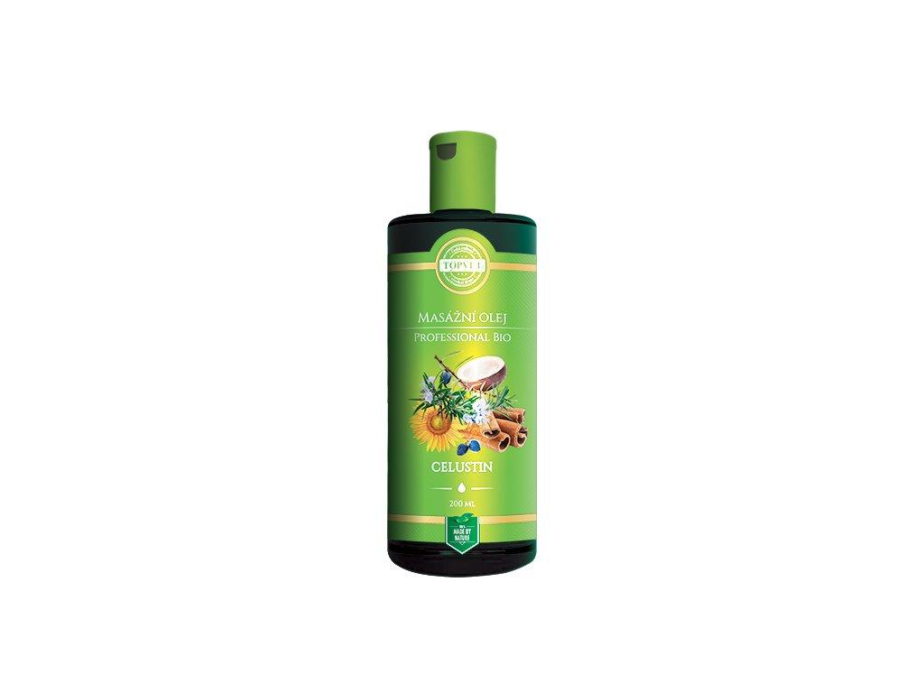 TOPVET BIO Celustin masážní olej 200ml