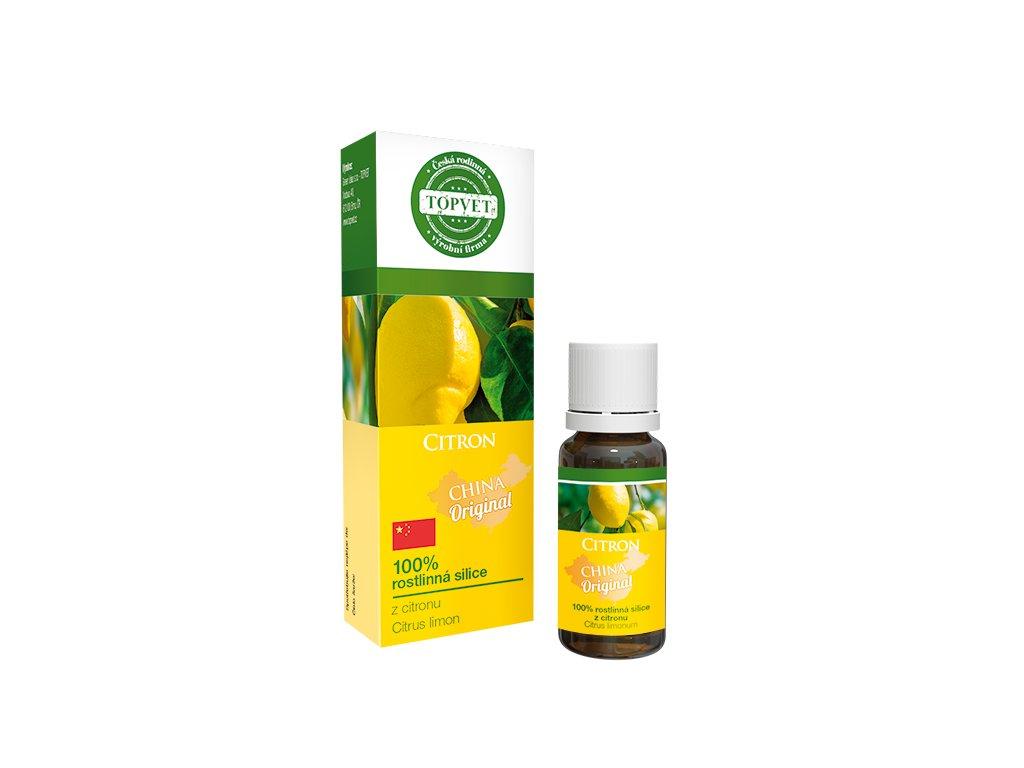 TOPVET Citron - 100% silice 10ml
