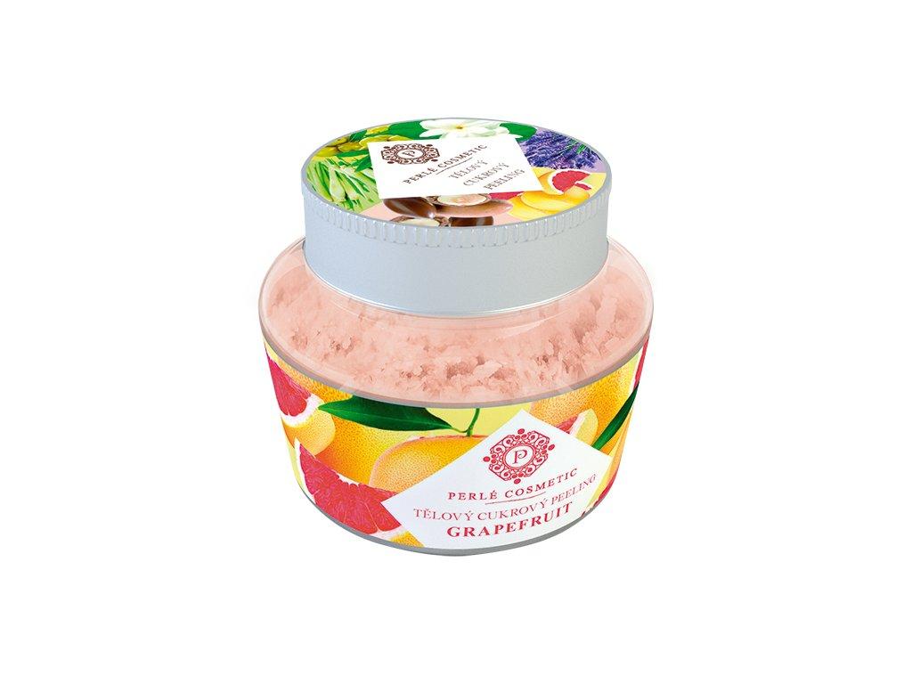 Perlé Cosmetic Cukrový peeling grapefruit 200g