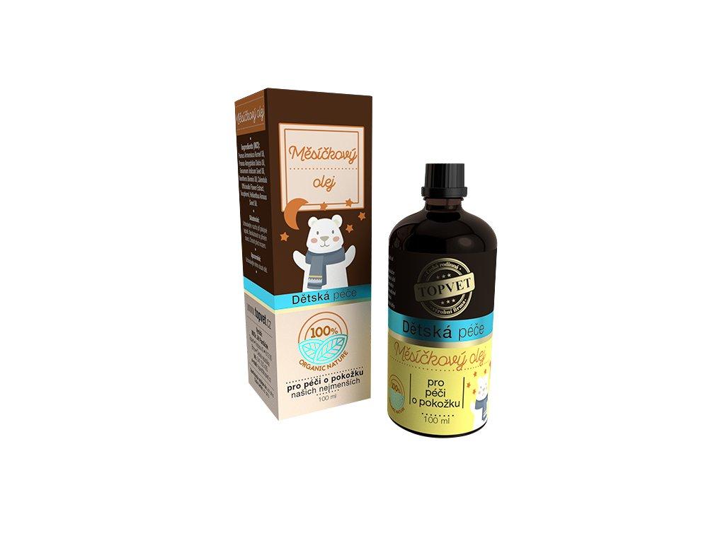 TOPVET Dětská péče - Měsíčkový olej 100ml