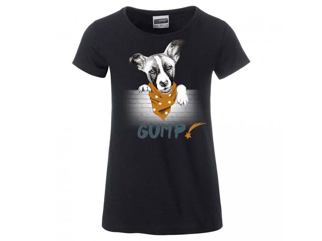 TOPVET GUMP - Tričko dámské černé XL