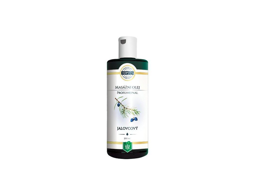 TOPVET Jalovcový masážní olej 200ml