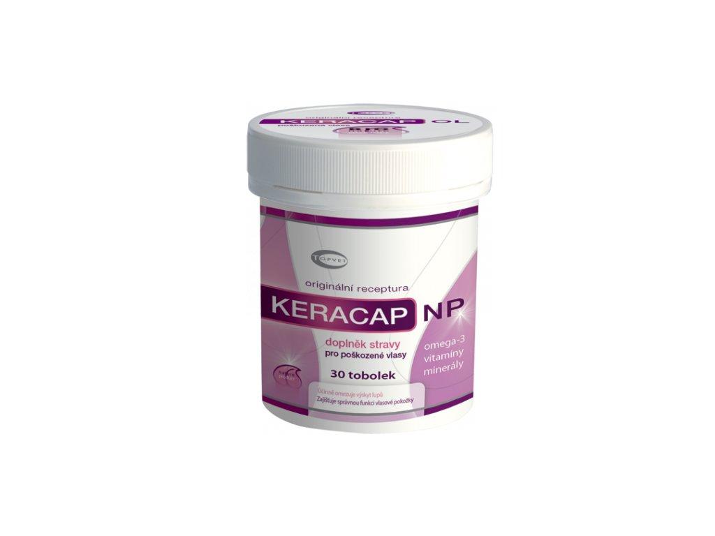 TOPVET KERACAP NP - pro poškozené vlasy