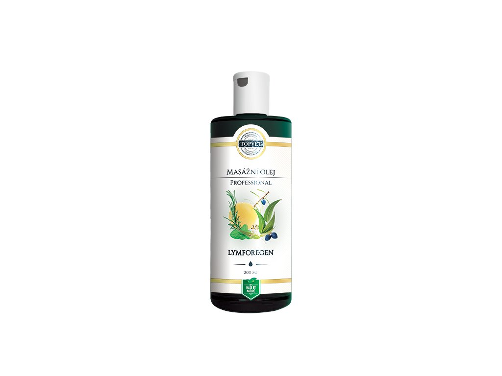 TOPVET Lymforegen - masážní olej 200ml