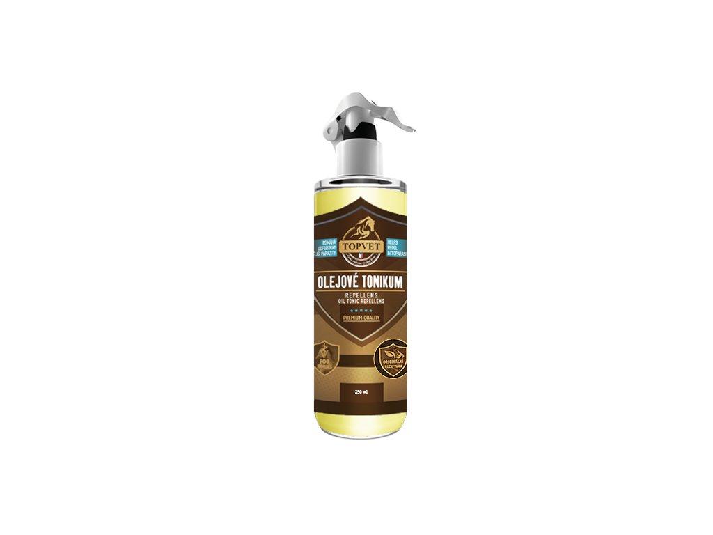 TOPVET Olejové tonikum s repelentním účinkem 250ml