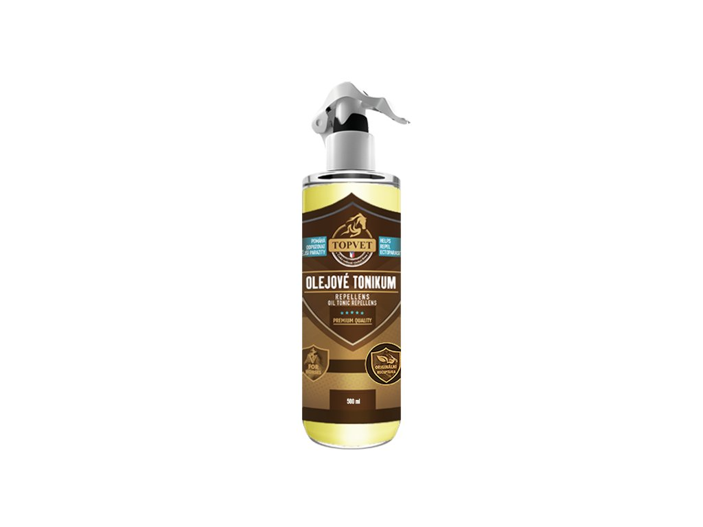 TOPVET Olejové tonikum s repelentním účinkem 500 ml 500ml