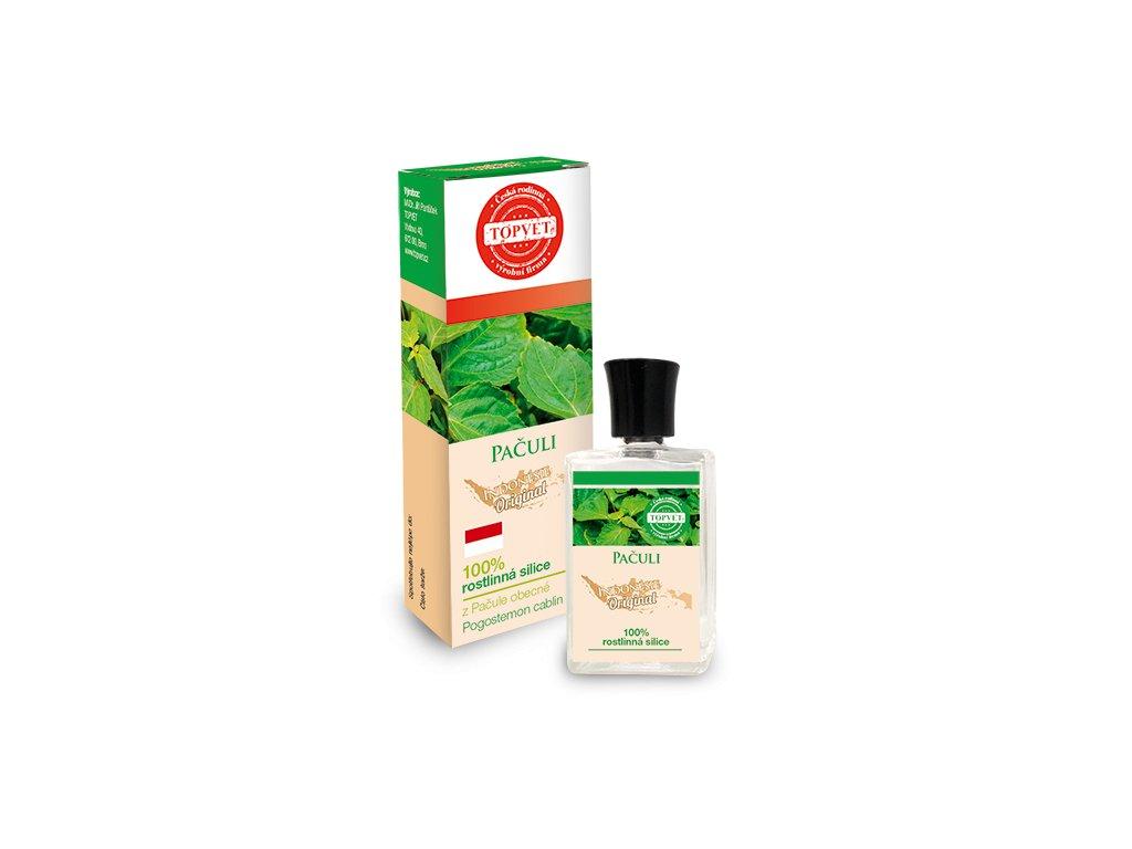 TOPVET Pačuli - 100% silice 10ml