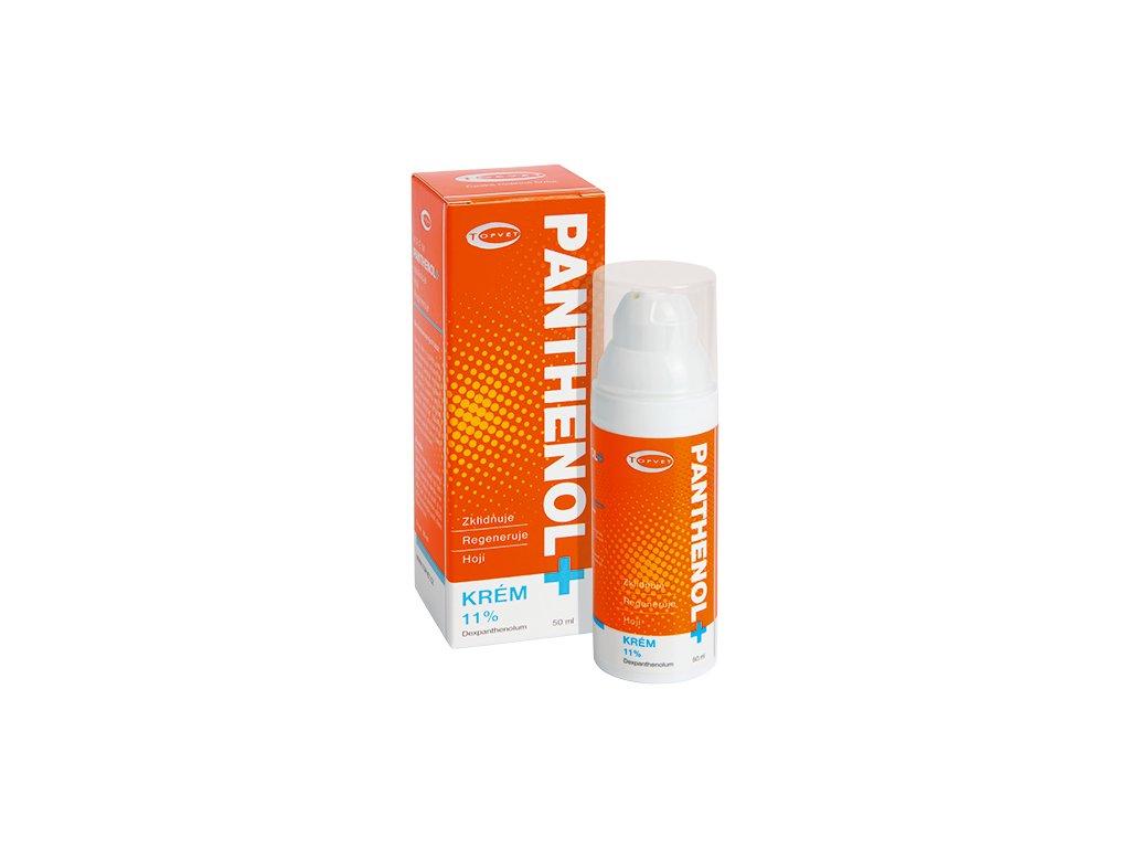 TOPVET PANTHENOL + KRÉM 11% 50ml