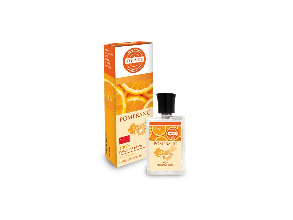 TOPVET Pomeranč - 100% silice 10ml