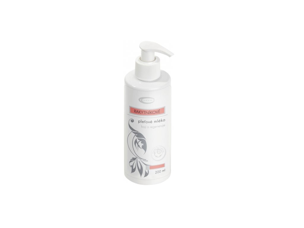 TOPVET Rakytníkové mléko s pantenolem 200ml