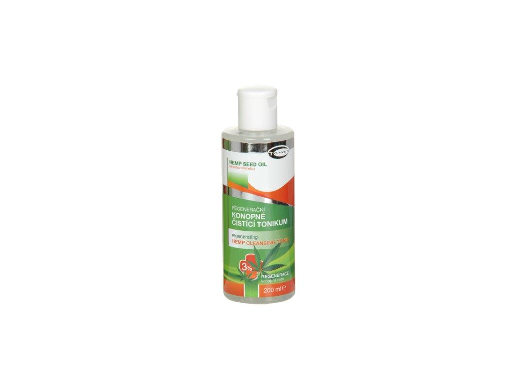 TOPVET Regenerační konopné čisticí tonikum 3% 200ml